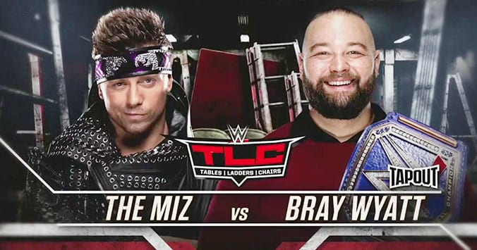 Universal Champion Bray Wyatt vs The Miz - WWE TLC 2019