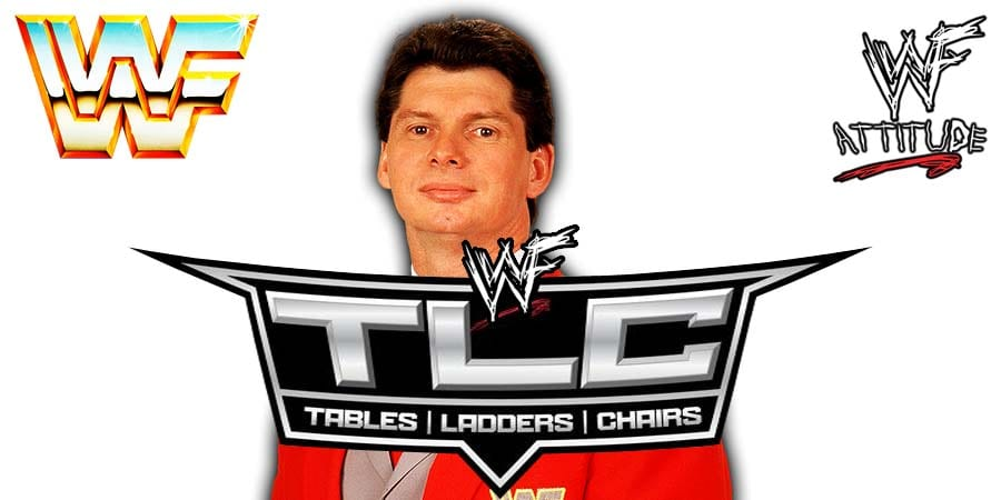 Vince McMahon WWE TLC