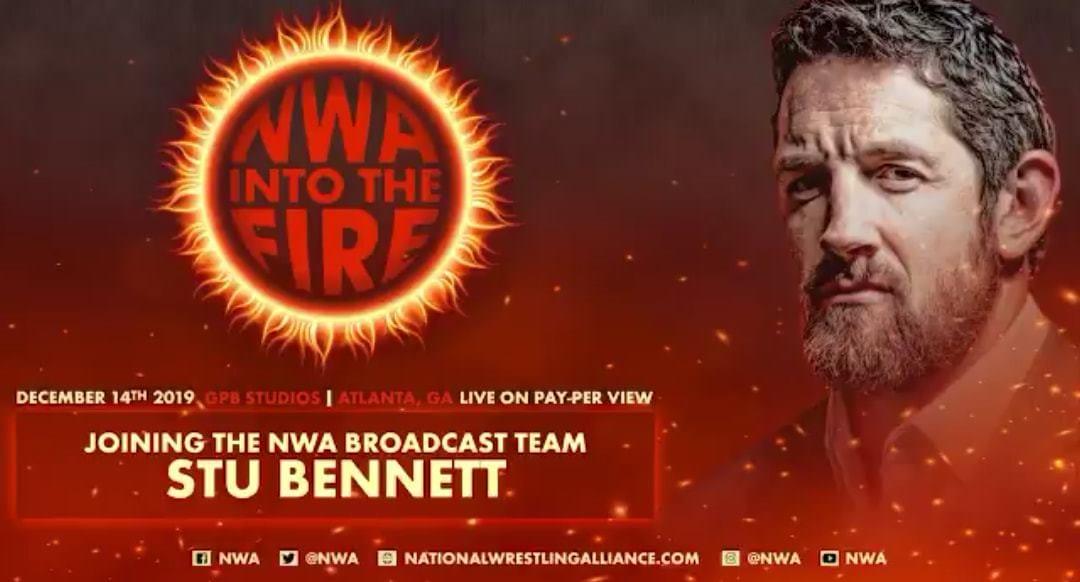 Wade Barrett Stu Bennett NWA Into The Fire 2019 PPV