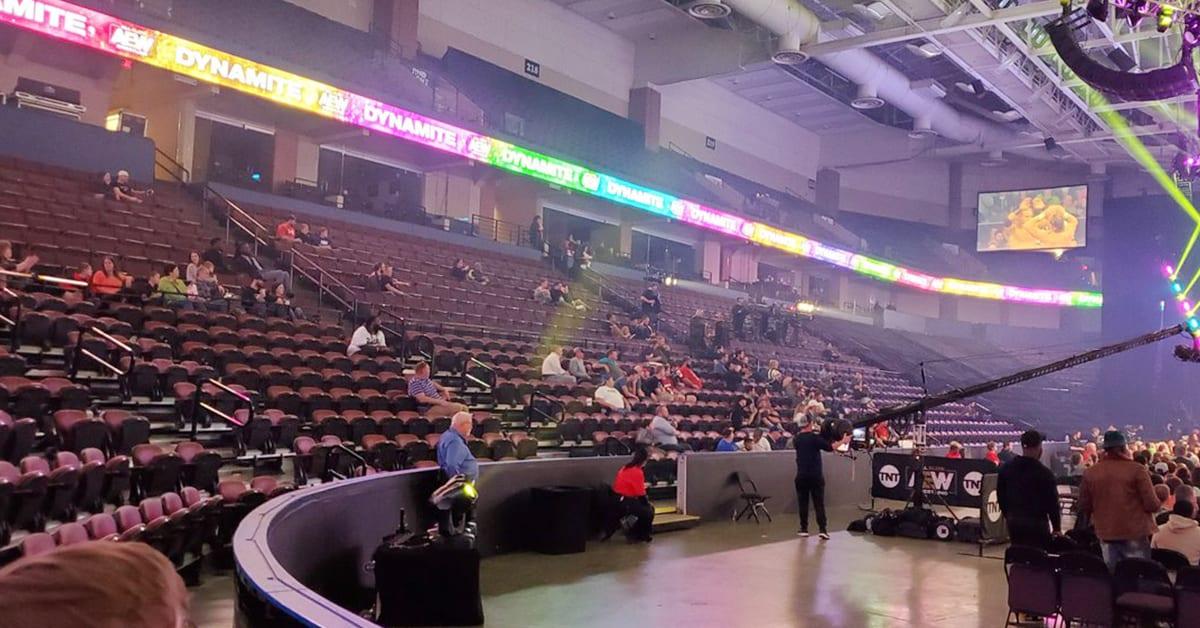 AEW Dynamite Low Attendance In Memphis January 2020