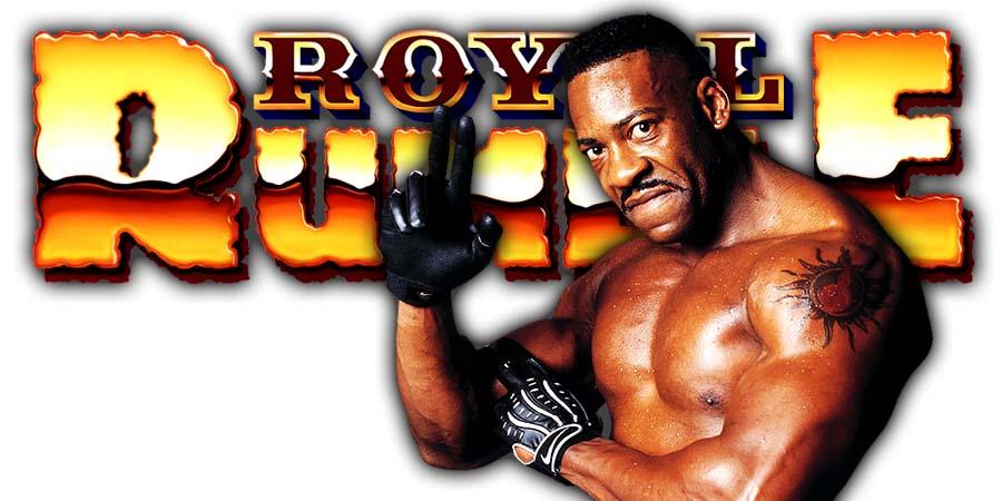 Booker T WWE Royal Rumble 2020