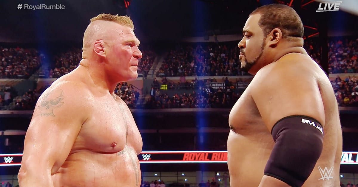 Brock Lesnar Keith Lee Face To Face Royal Rumble 2020