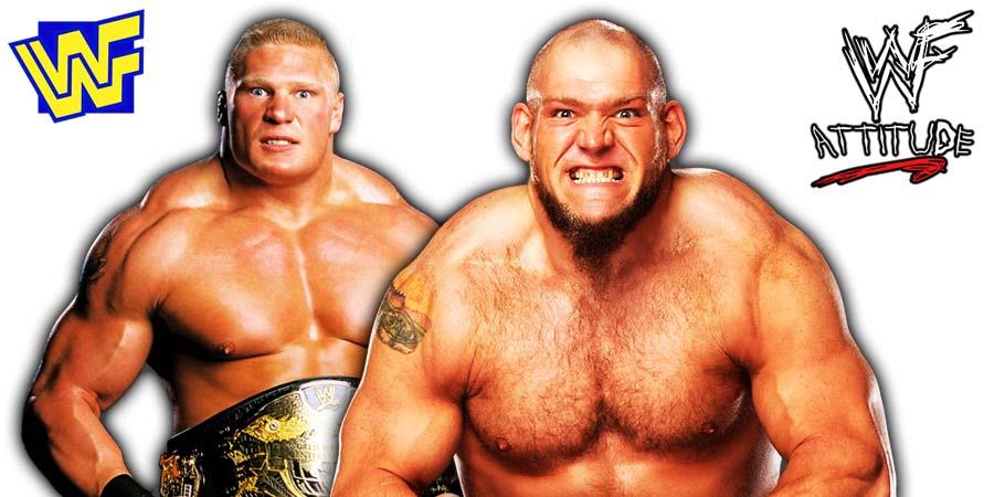 Brock Lesnar vs Lars Sullivan