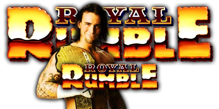 CM Punk Royal Rumble 2020