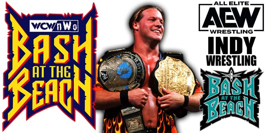 Chris Jericho AEW Dynamite Bash At The Beach