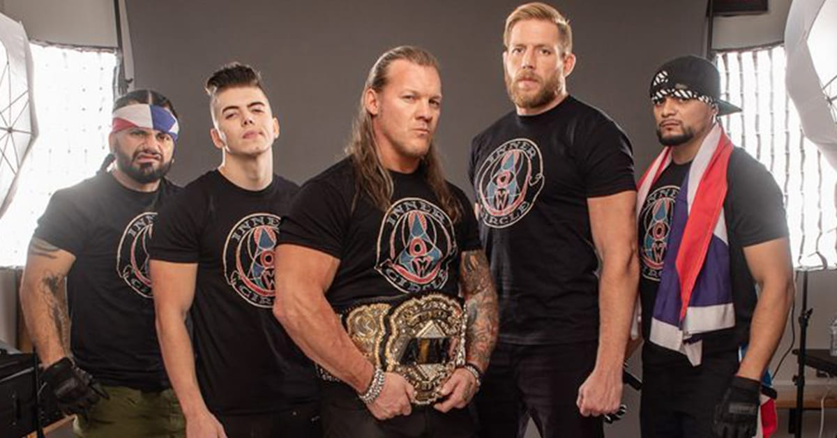 Chris Jericho AEW Inner Circle Photoshoot