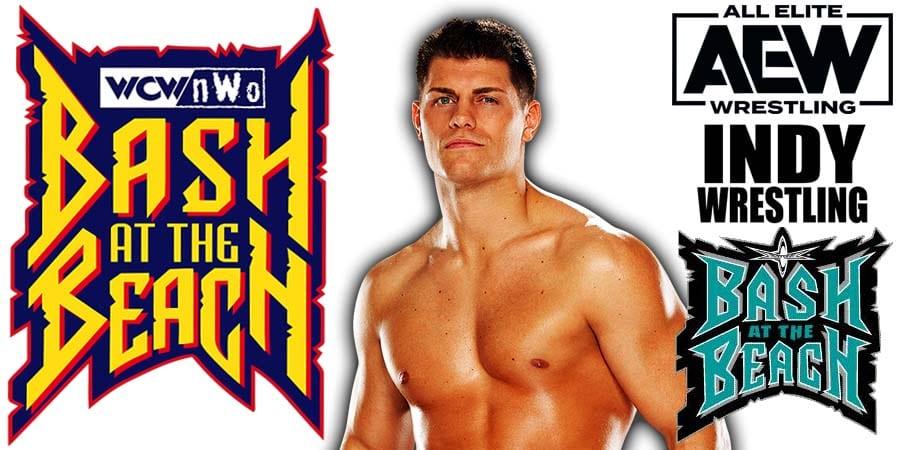 Cody Rhodes AEW Dynamite Bash At The Beach