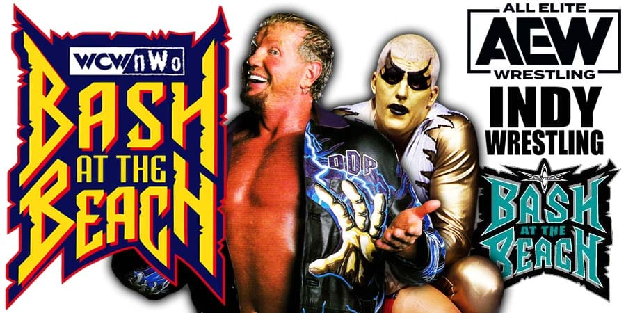 DDP Diamond Dallas Page Goldust Dustin Rhodes AEW Dynamite Bash At The Beach