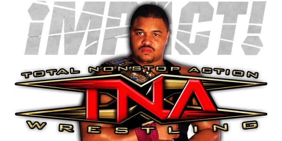 D'Lo Brown Impact Wrestling TNA 2020