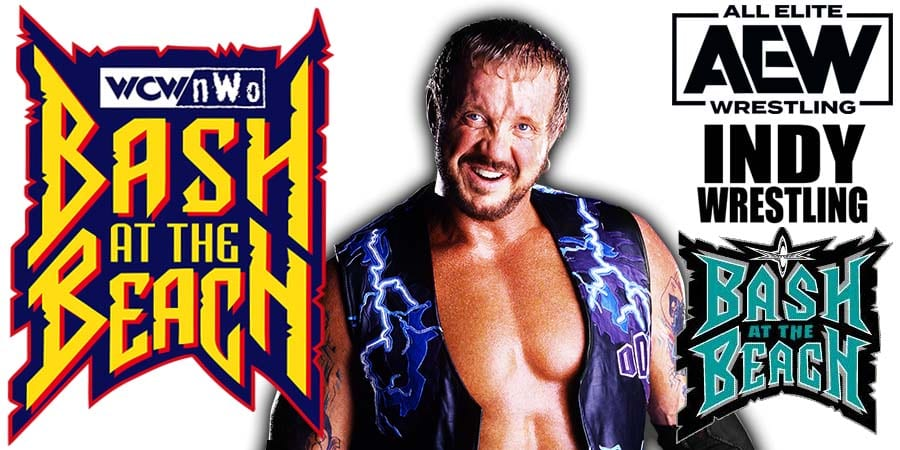 Diamond Dallas Page DDP AEW Dynamite Bash At The Beach Match