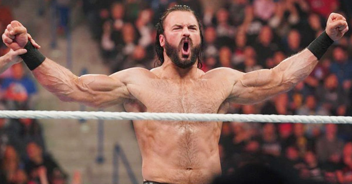 Drew McIntyre Ripped Jacked Muscular Physique Flexing