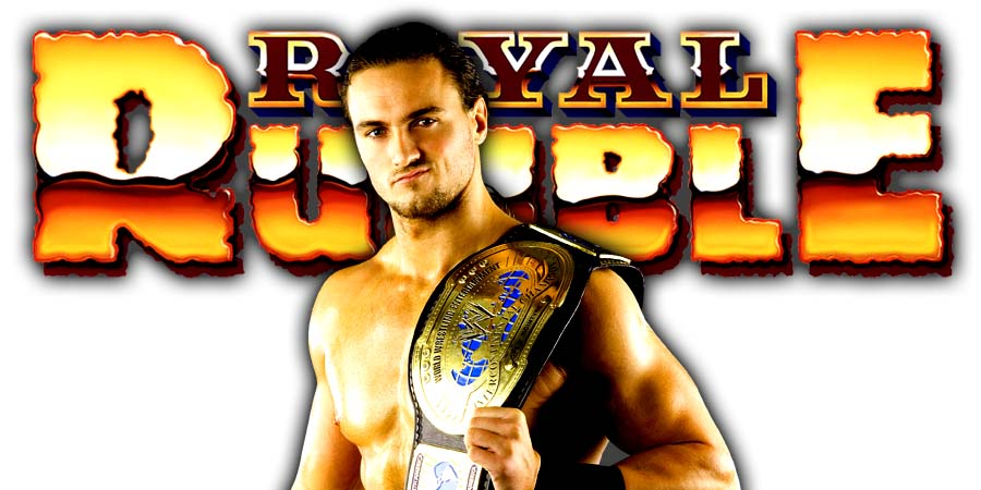 Drew McIntyre Royal Rumble 2020