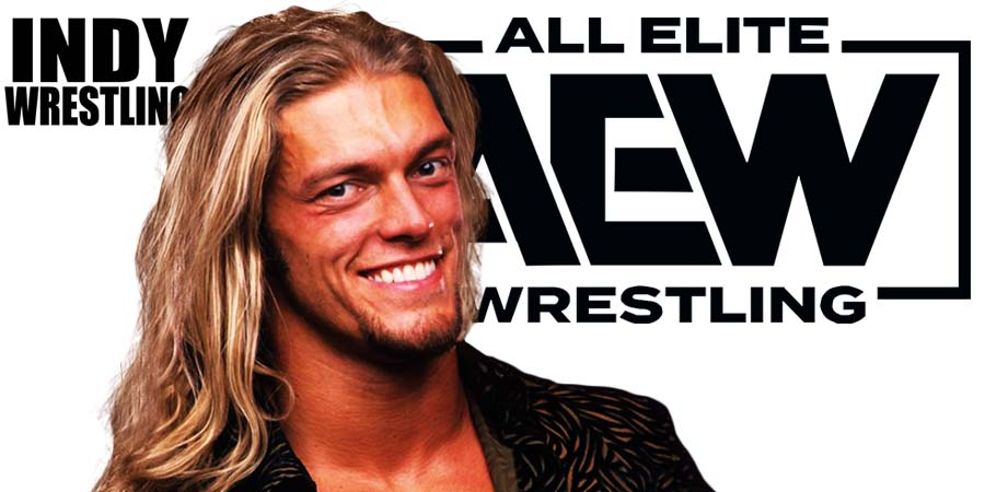 Edge AEW All Elite Wrestling