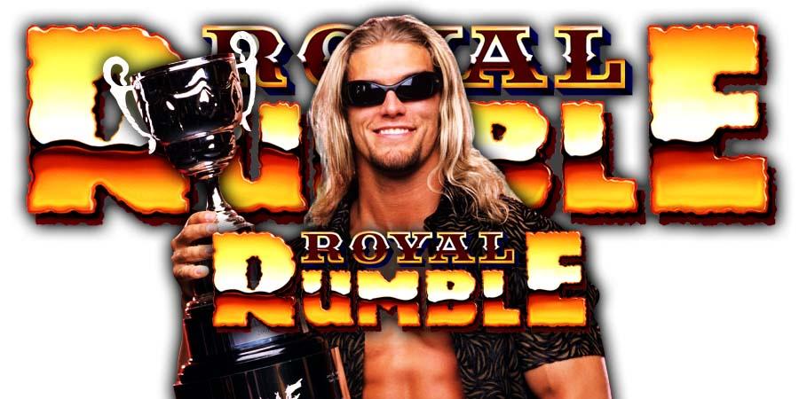Edge Returns WWE Royal Rumble 2020