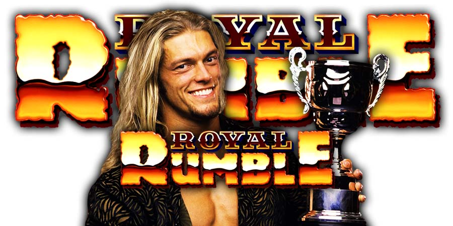 Edge Royal Rumble 2020 Surprise