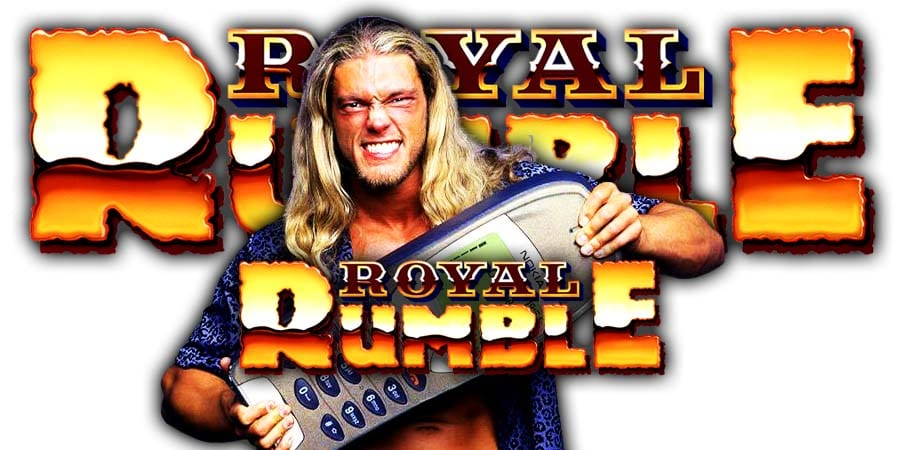 Edge WWE Royal Rumble 2020 Match Return