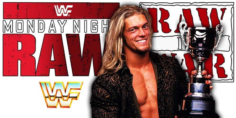 Edge WWF WWE RAW