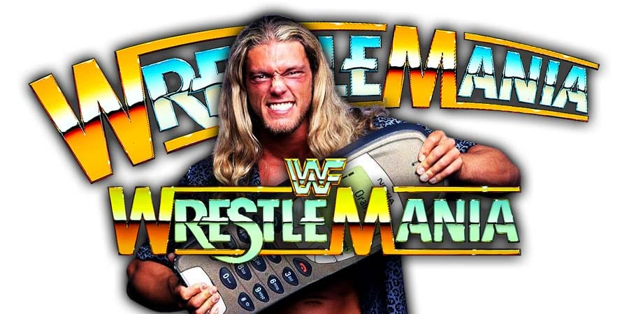 Edge WrestleMania 36 Match