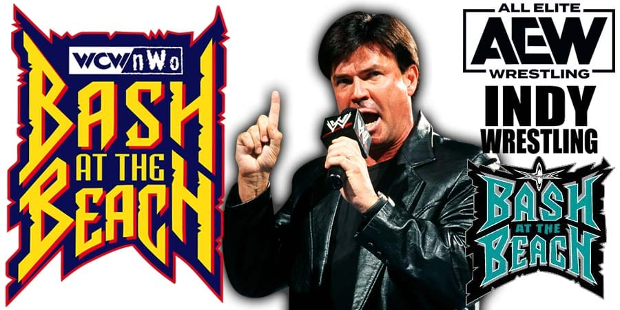 Eric Bischoff AEW Dynamite Bash At The Beach