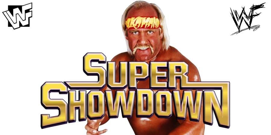Hulk Hogan WWE Super ShowDown 2020