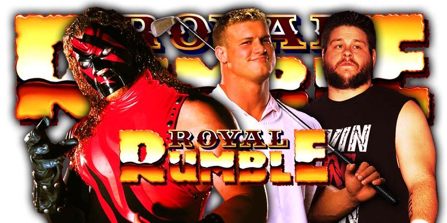 Kane Dolph Ziggler Kevin Owens Royal Rumble 2020