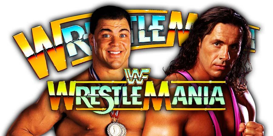 Kurt Angle vs Bret Hart - WWE WrestleMania 20 Dream Match Cancelled