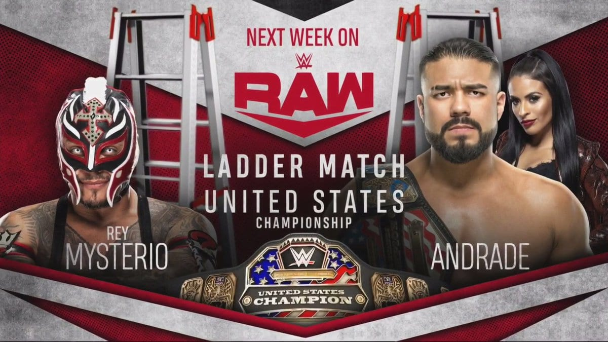 Rey Mysterio vs Andrade - Ladder Match For The United States Championship