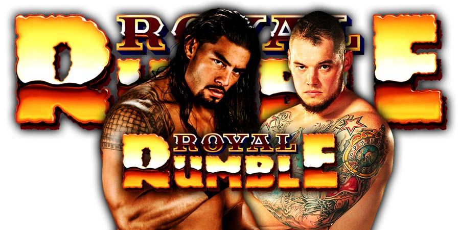 Roman Reigns Defeats King Corbin At Royal Rumble 2020