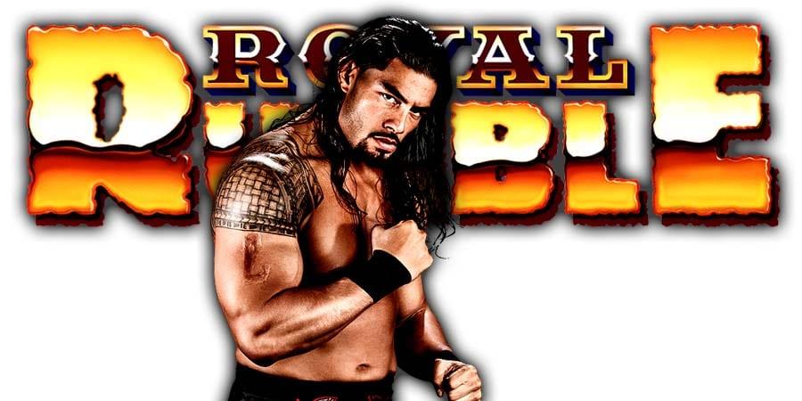 Roman Reigns Royal Rumble 2020