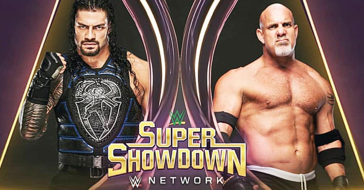 Roman Reigns vs Goldberg - WWE Super ShowDown 2020