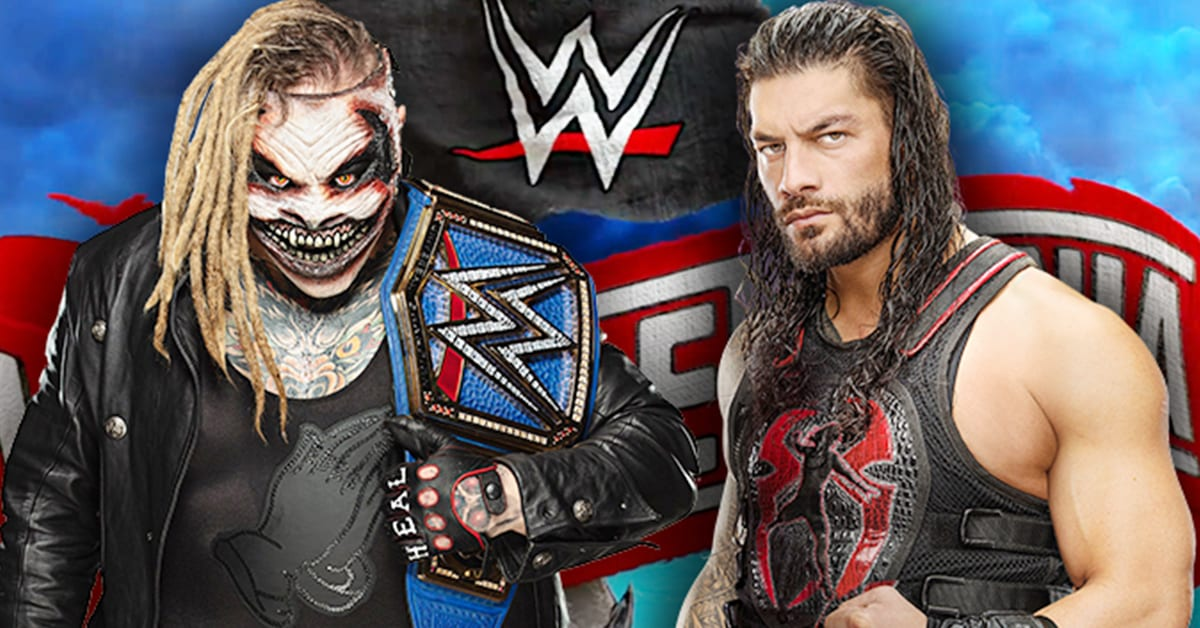 Roman Reigns vs The Fiend Universal Championship WrestleMania 36 Main Event