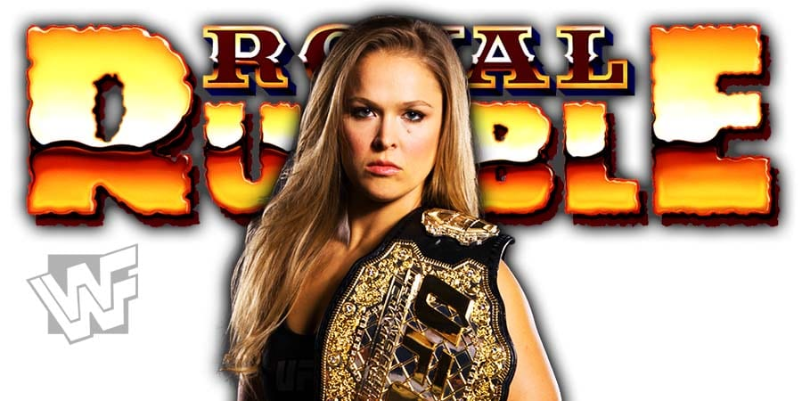 Ronda Rousey Royal Rumble 2020