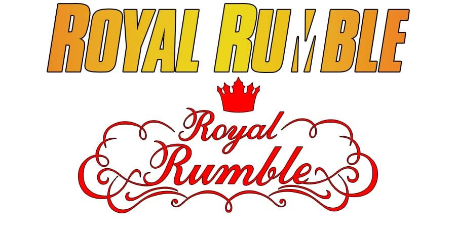 Royal Rumble PPV Match Logo