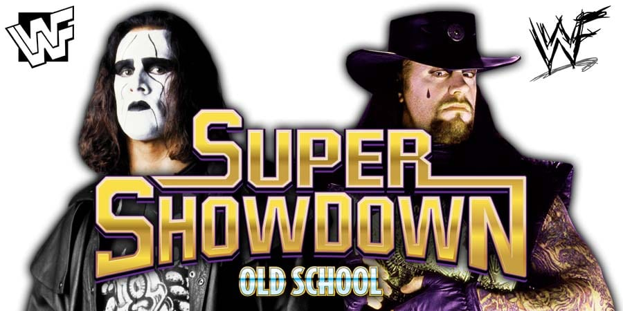 Sting vs The Undertaker - WWE Super ShowDown 2020