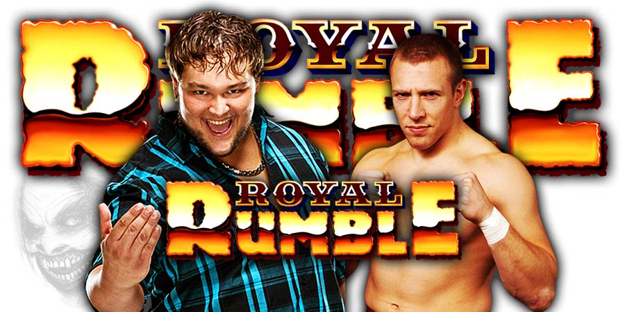 The Fiend Bray Wyatt vs Daniel Bryan - WWE Royal Rumble 2020