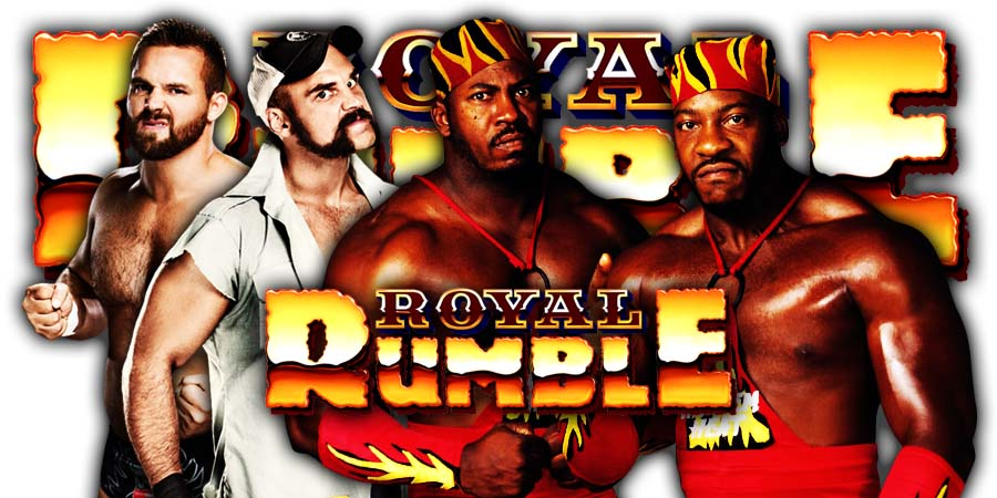 The Revival vs Harlem Heat - Royal Rumble 2020