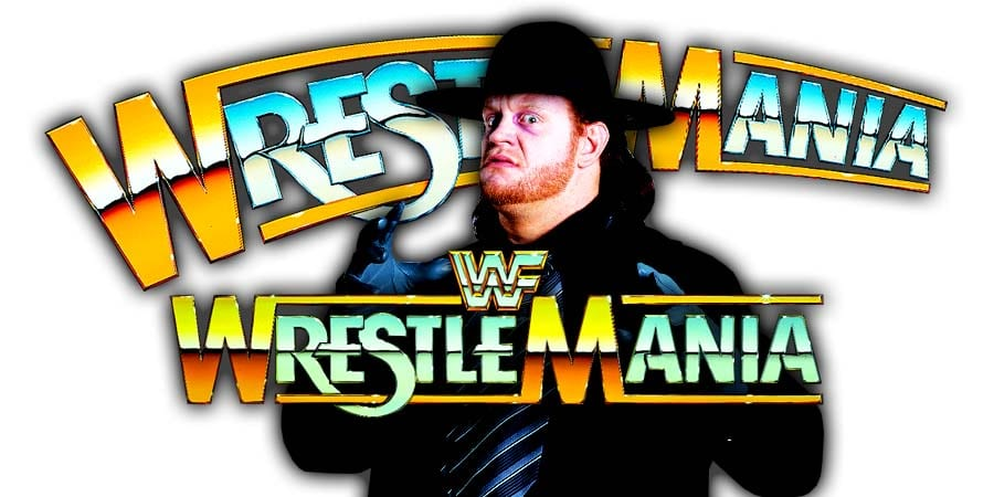 The Undertaker Will Wrestle At WrestleMania 36