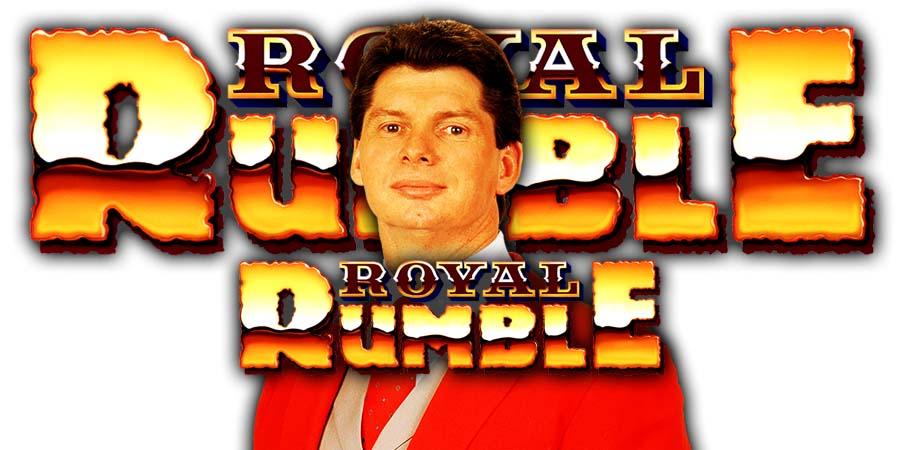 Vince McMahon WWF WWE Royal Rumble