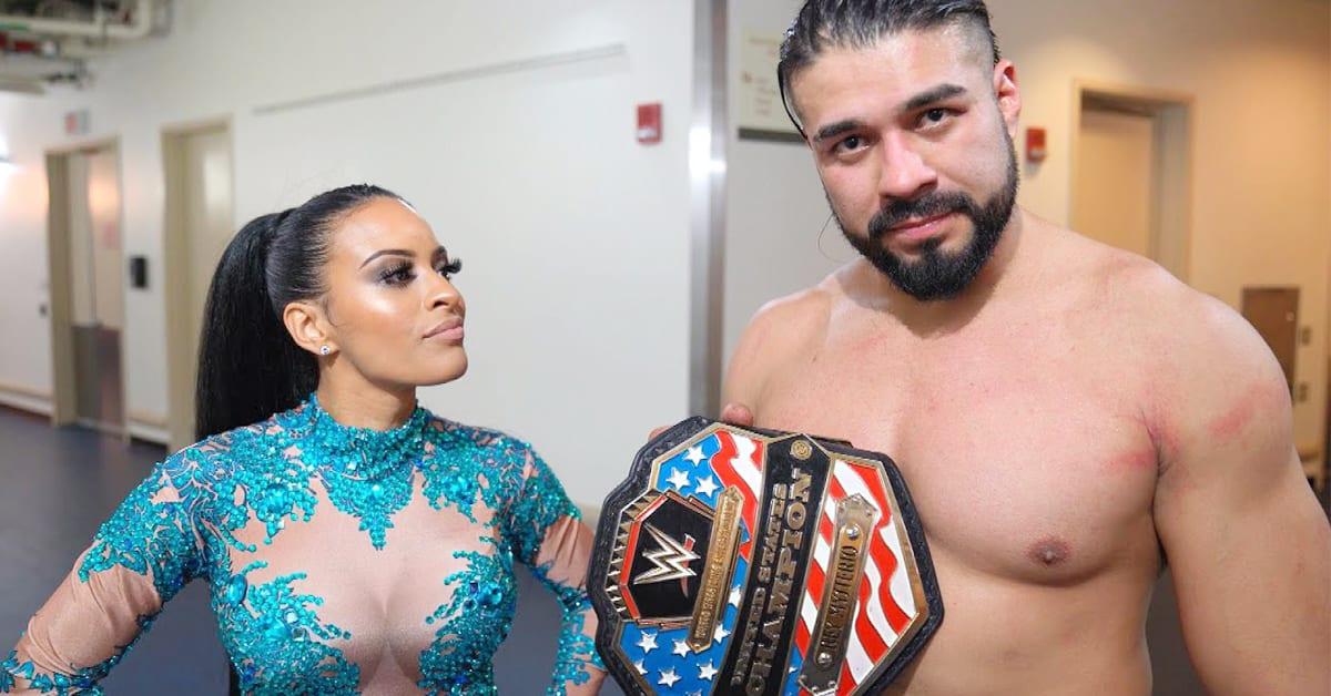 Zelina Vega WWE United States Champion Andrade