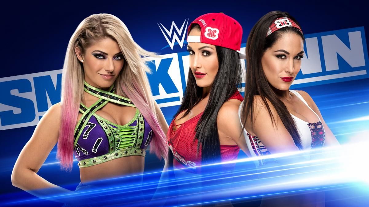 Alexa Bliss Nikki Bella Brie Bella Bella Twins A Moment Of Bliss WWE SmackDown February 2020