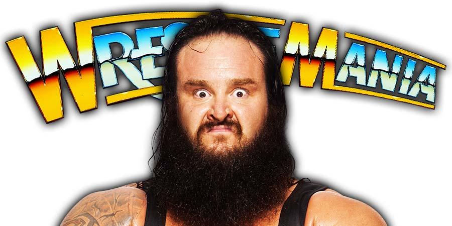 Braun Strowman WrestleMania 36