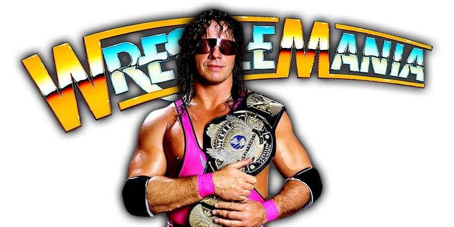 Bret Hart WrestleMania 36