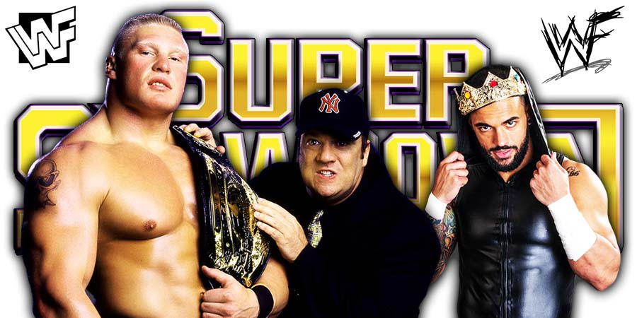 Brock Lesnar Defeats Ricochet at WWE Super ShowDown 2020