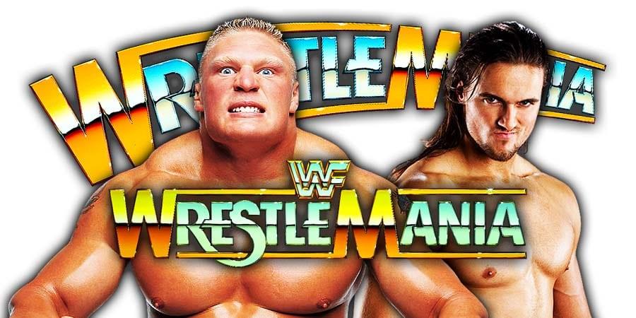 Brock Lesnar vs Drew McIntyre To Main Event WrestleMania 36