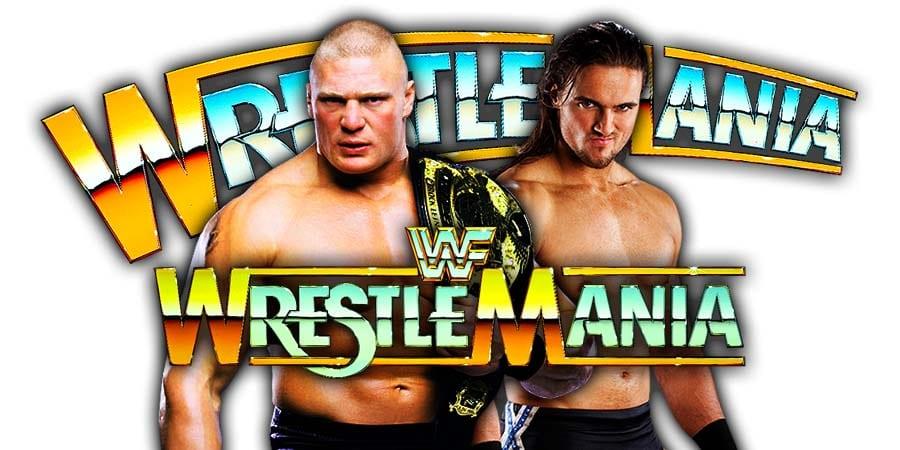 Brock Lesnar vs. Drew McIntyre - WWE Championship Match (WrestleMania 36)