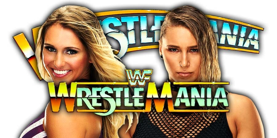 Charlotte Flair vs Rhea Ripley - WrestleMania 36