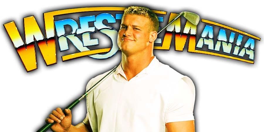 Dolph Ziggler WrestleMania 36