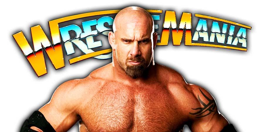Goldberg Not Wrestling At WrestleMania 36
