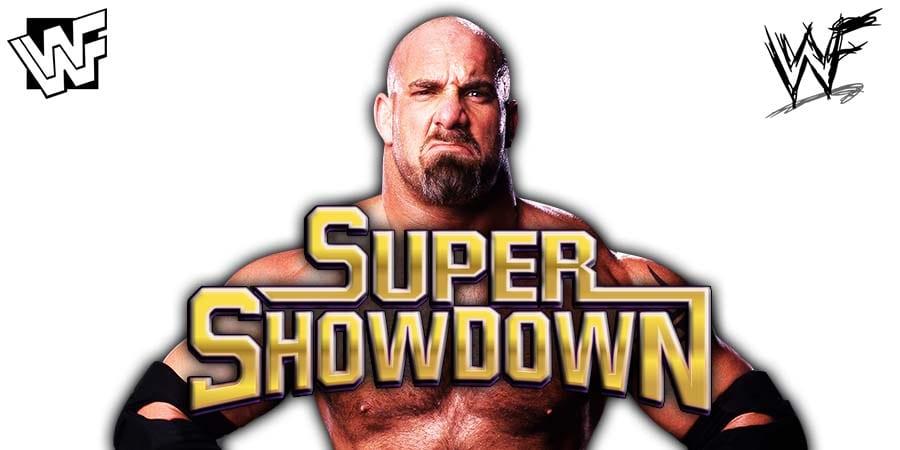 Goldberg WWE Super ShowDown 2020
