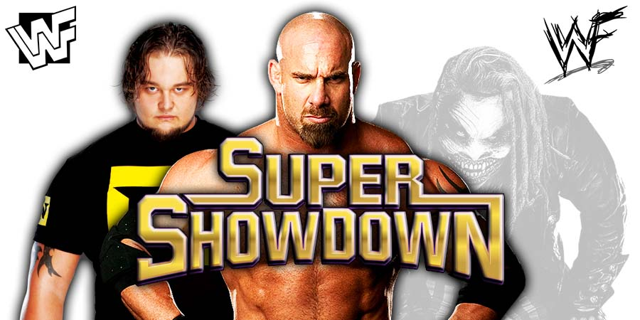 Goldberg beats The Fiend At Super ShowDown 2020